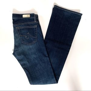 AG Jeans The Angel Size 27 Dark wash Bootcut